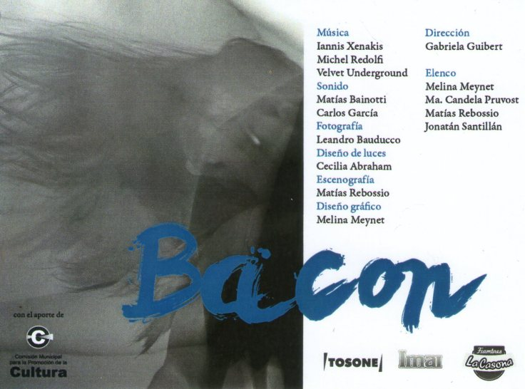 BACON Gabriela Guibert
