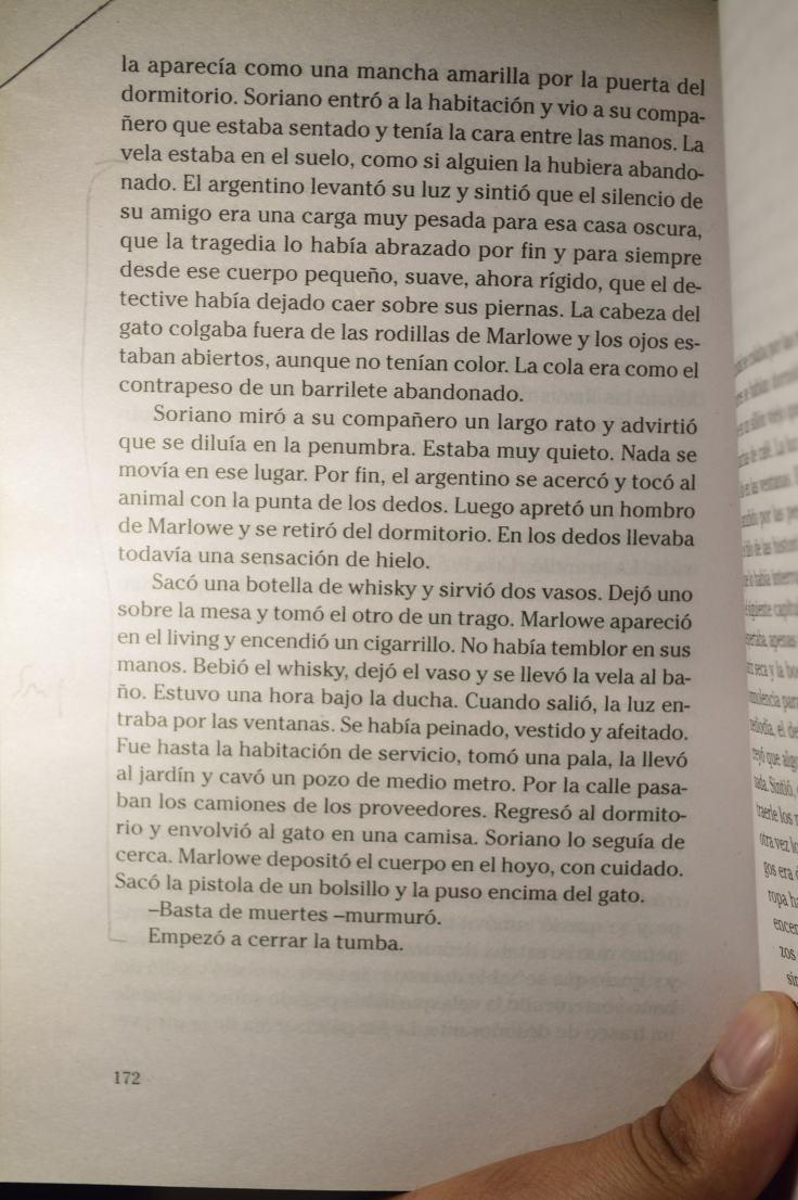 """Triste, solitario y final"" de Osvaldo Soriano (fragmento)"