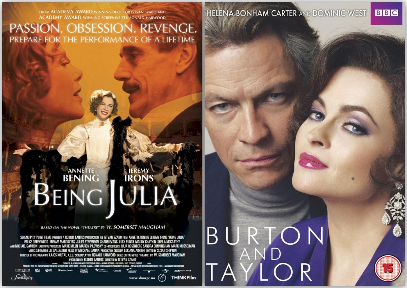 Being Julia - Burton y Taylor