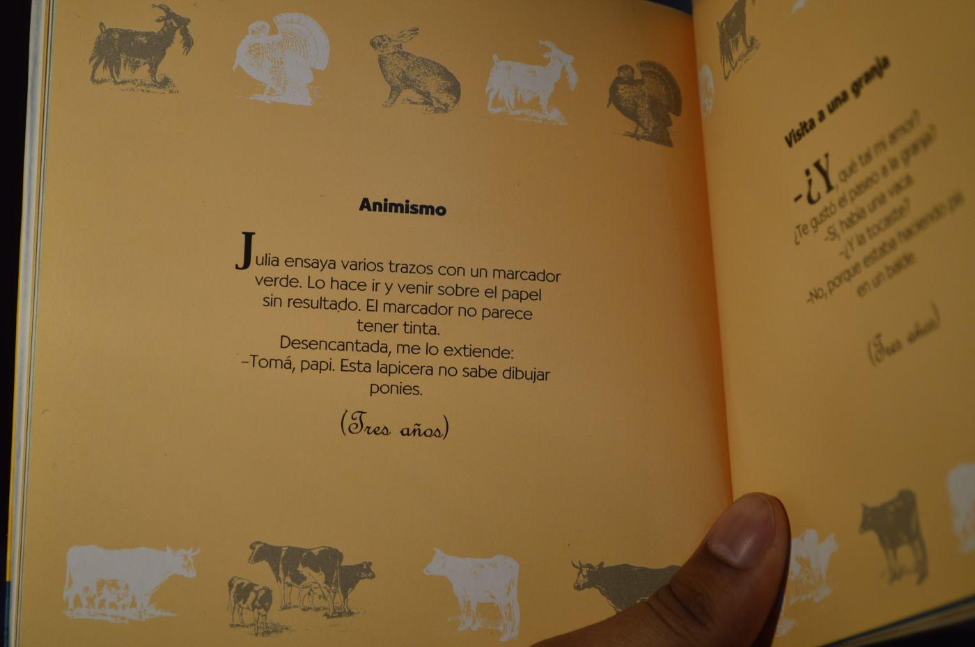 """""""Animismo"""" de Santiago Kovadloff en """"La vida es siempre más o menos""""."""