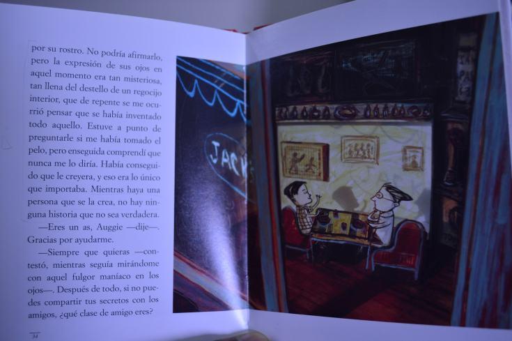 """""""El cuento de Navidad de Auggie Wren"""" de Paul Auster (fragmento)"""