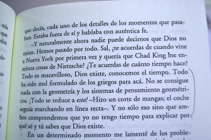 """""""En el camino"""" de Jack Kerouac (fragmento)."""