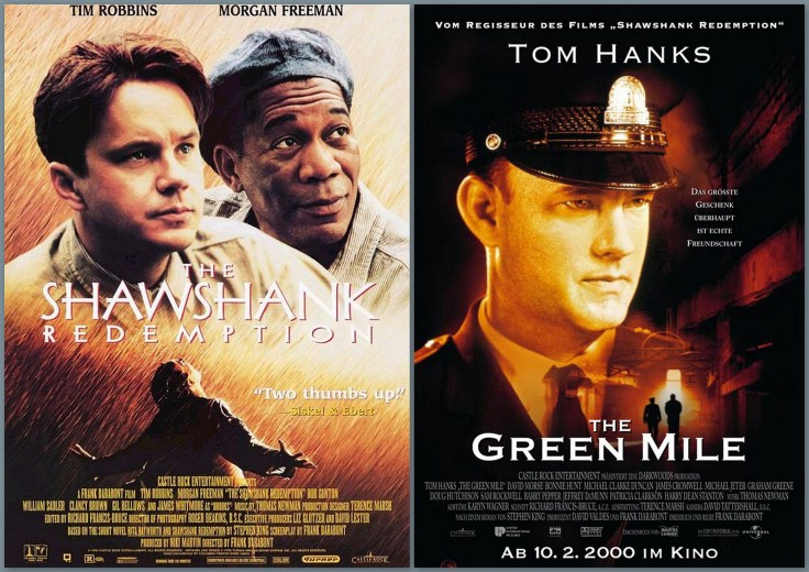 the shawshank redemption the green mile