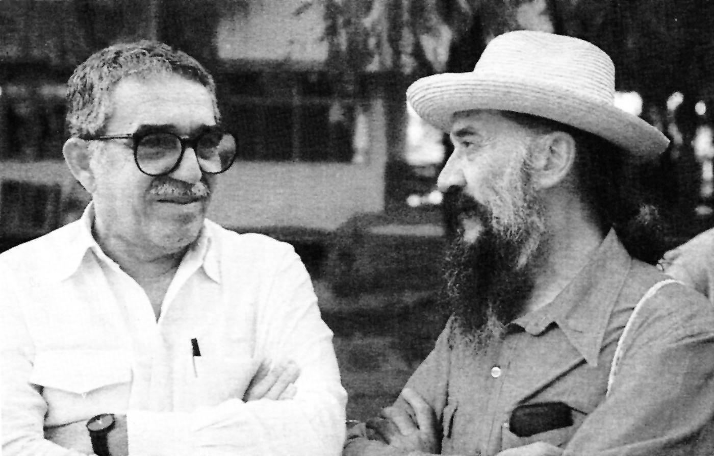 Gabriel García Márquez y Fernando Birri