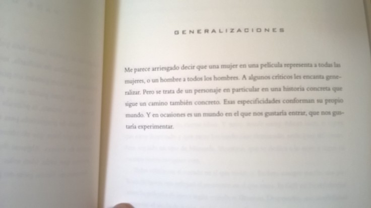 Generalizaciones - David Lynch
