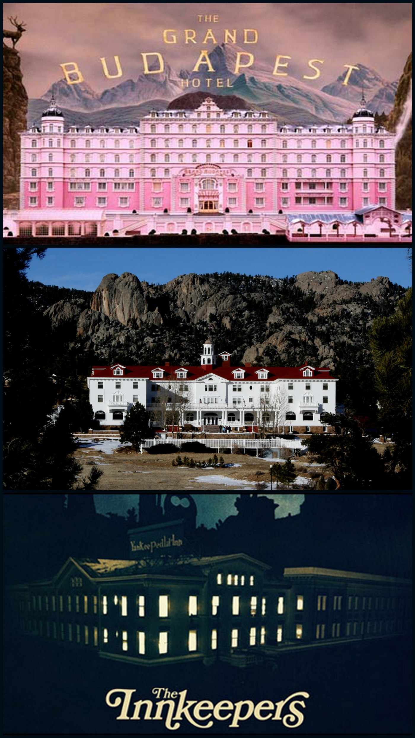 Hotel Grand hotel Budapest The Shinning The inkeepers